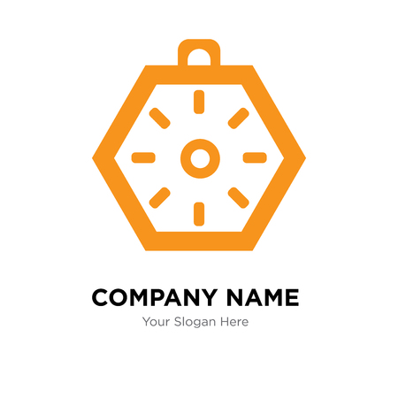 Localization orientation tool of compass with cardinal points company logo design template, Business corporate vector icon Banque d'images - 99686496