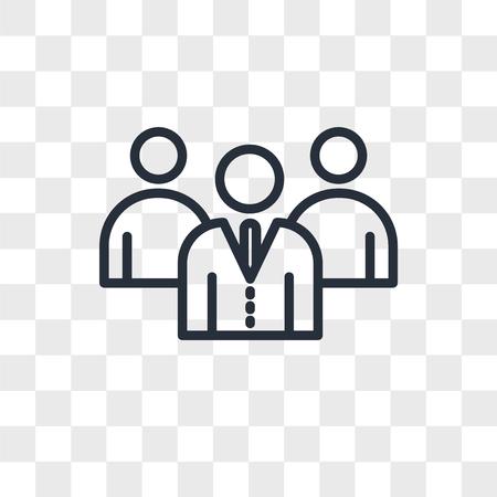 employer branding vector icon isolated on transparent background, employer branding logo concept