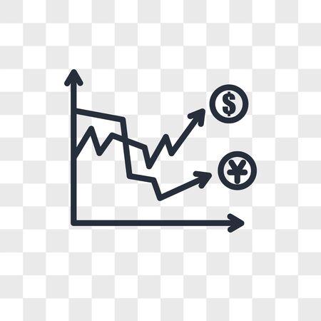 volatility vector icon isolated on transparent background, volatility logo concept