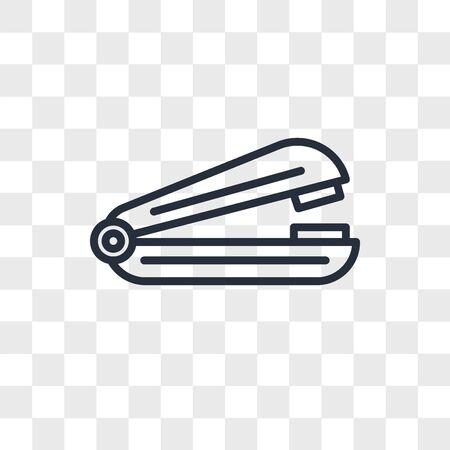 Stapler vector icon isolated on transparent background, Stapler logo concept Stock fotó - 150540448