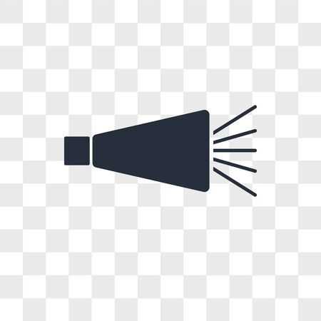 Noisemaker vector icon isolated on transparent background, Noisemaker logo concept