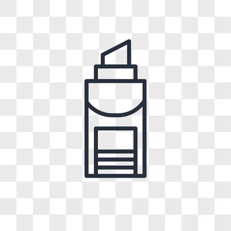 Glue stick vector icon isolated on transparent background, Glue stick logo concept