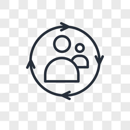remarketing vector icon isolated on transparent background, remarketing logo concept Archivio Fotografico - 150638678