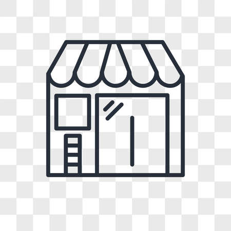 Barbershop vector icon isolated on transparent background, Barbershop logo concept Stock fotó - 150637648