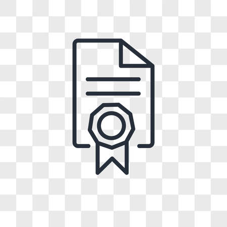 mandate vector icon isolated on transparent background, mandate logo concept