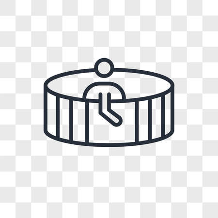 Person in spa sauna vector icon isolated on transparent background, Person in spa sauna logo concept 일러스트