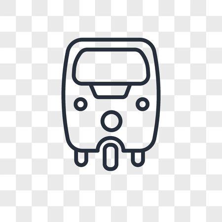 tuk tuk vector icon isolated on transparent background, tuk tuk logo concept