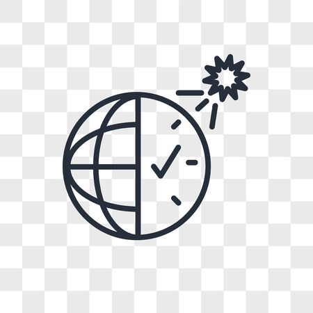 daylight savings vector icon isolated on transparent background, daylight savings logo concept