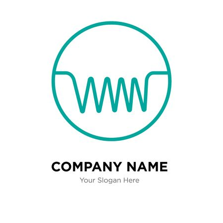 induction company logo design template, Business corporate vector icon