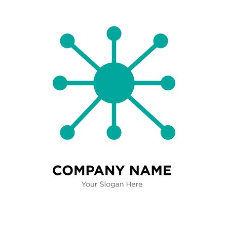 facilities management company logo design template, Business corporate vector icon