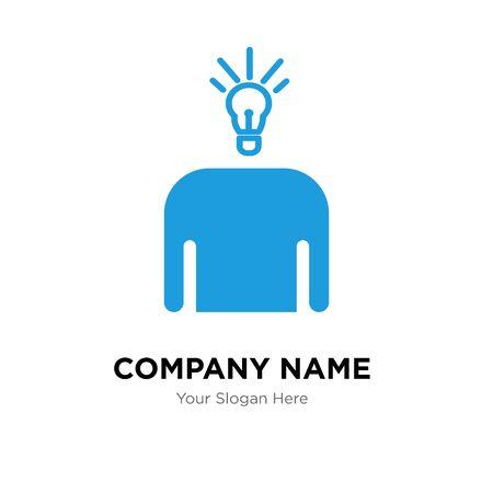 brand awareness company logo design template, Business corporate vector icon Stock Illustratie