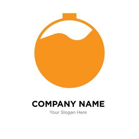 overdue company logo design template, Business corporate vector icon