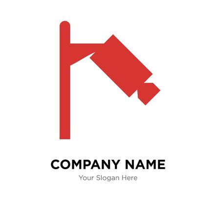 360 degree camera company logo design template, Business corporate vector icon Stock Illustratie