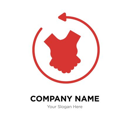 customer engagement company logo design template, Business corporate vector icon Imagens - 150520126