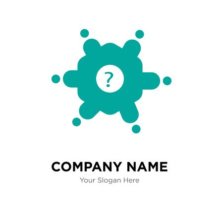 roundtable company logo design template, Business corporate vector icon