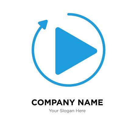 photo coming soon company logo design template, Business corporate vector icon Stock Illustratie