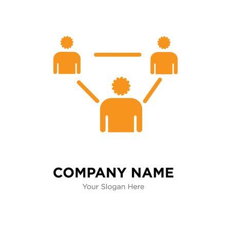 erp company logo design template, Business corporate vector icon