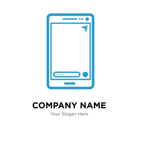 comment company logo design template, Business corporate vector icon
