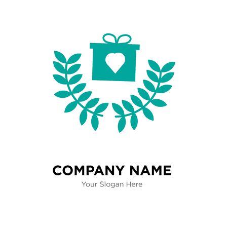 loyalty program company logo design template, Business corporate vector icon Archivio Fotografico