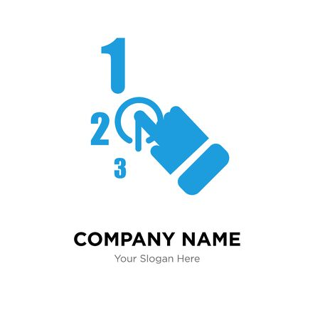 one stop solution company logo design template, Business corporate vector icon