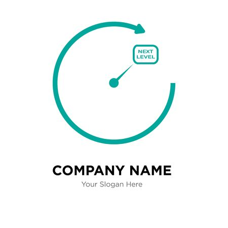 next level company logo design template, Business corporate vector icon
