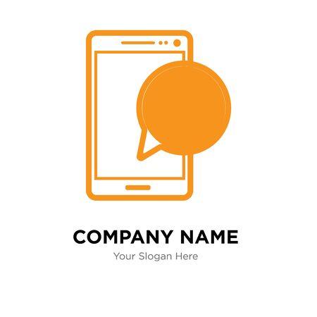 company logo design template, Business corporate vector icon