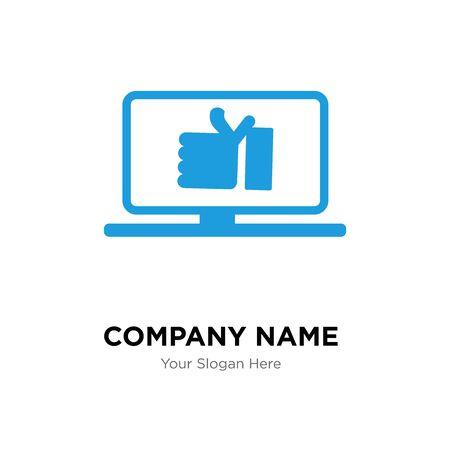 proven company logo design template, Business corporate vector icon Stock Illustratie