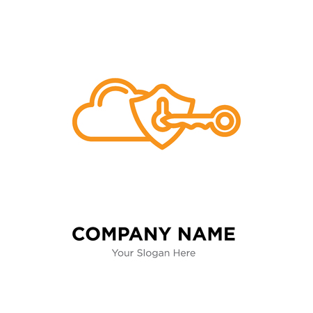 Privacy company logo design template, Privacy logotype vector icon, business corporative