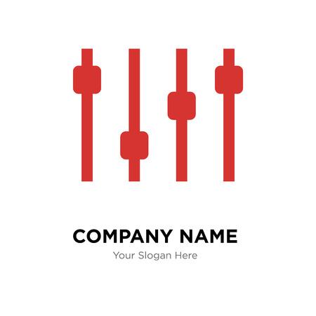 Levels company logo design template, Levels logotype vector icon, business corporative