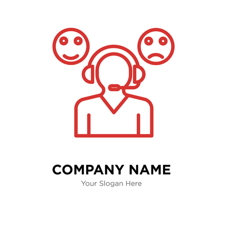 Rate company logo design template, Rate logotype vector icon, business corporative