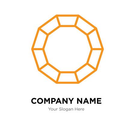 Lifesaver company logo design template, Lifesaver logotype vector icon, business corporative