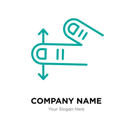 Tap company logo design template, Tap logotype vector icon, business corporative Ilustração