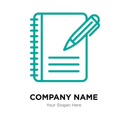 List company logo design template, List logotype vector icon, business corporative