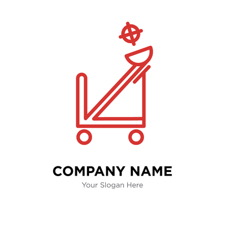 Catapult company logo design template, Catapult logotype vector icon, business corporative Illustration