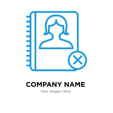Agenda company logo design template, Agenda logotype vector icon, business corporative