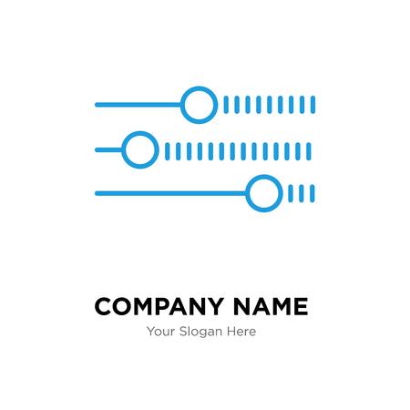 Livelli modello di progettazione del logo dell'azienda, icona di vettore del logotipo di livelli, corporativo di affari