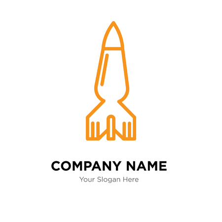 Bomb company logo design template, Bomb logotype vector icon, business corporative