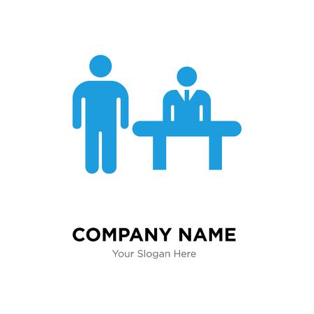 Plantilla de diseño de logotipo de empresa cliente, icono de vector de logotipo de cliente, empresa corporativa