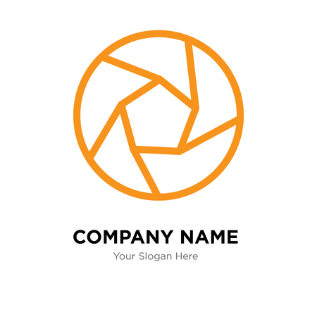 Sluiter bedrijf logo ontwerpsjabloon, sluiter logo vector pictogram, zakelijke corporatieve