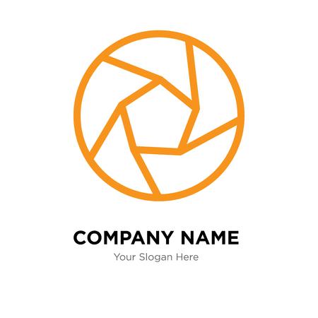 Shutter company logo design template, Shutter logotype vector icon, business corporative Illustration