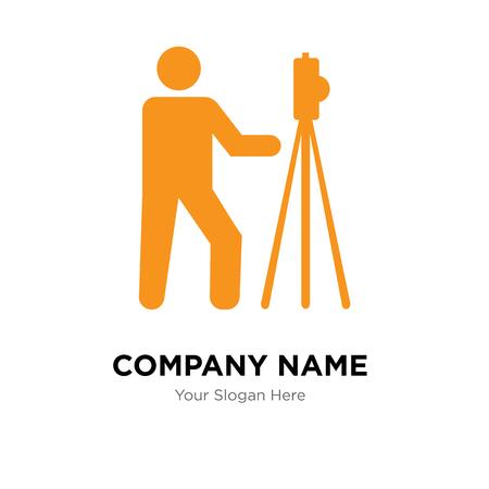 Photo company logo design template, Photo logotype vector icon, business corporative Foto de archivo - 106295590
