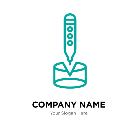 Pyramid company logo design template, Pyramid logotype vector icon, business corporative