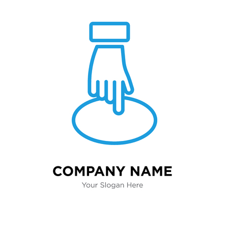 Position company logo design template, Position logotype vector icon, business corporative