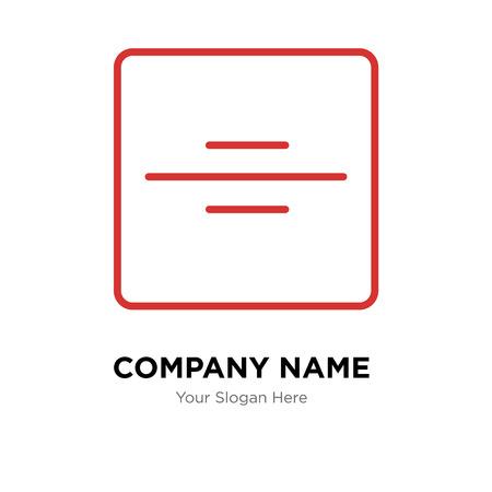 Division company logo design template, Division logotype vector icon, business corporative 일러스트