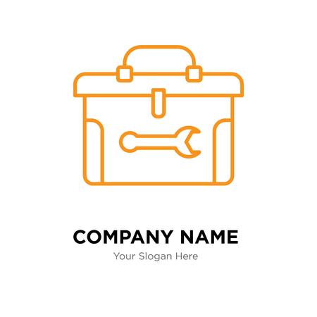 Toolbox company logo design template, Toolbox logotype vector icon, business corporative