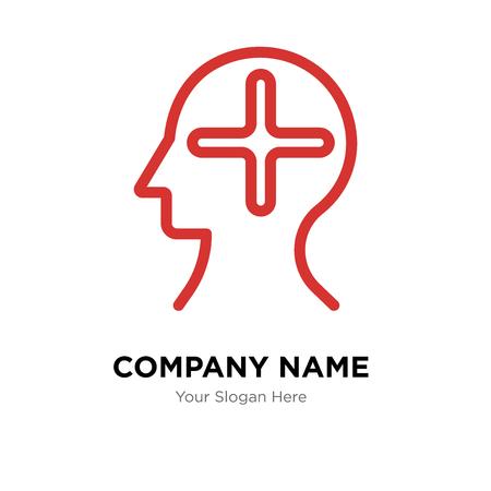 Plantilla de diseño de logotipo de empresa de perfil, icono de vector de logotipo de perfil, empresa corporativa