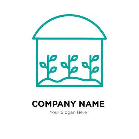house company logo design template, house logotype vector icon, business corporative Stock Illustratie