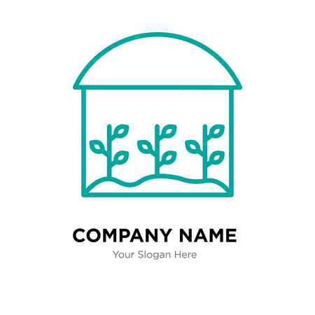 house company logo design template, house logotype vector icon, business corporative Ilustração