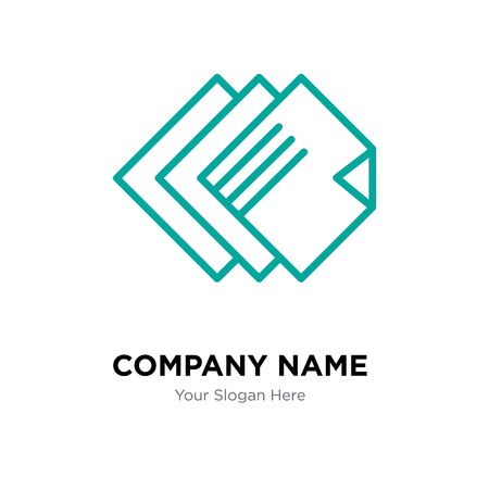 Layers company logo design template, Layers logotype vector icon, business corporative