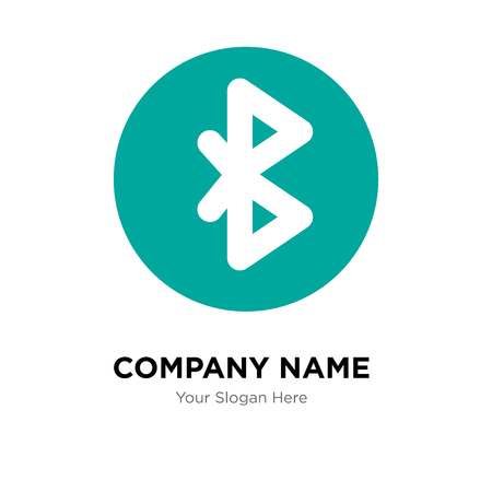 tooth company logo design template, tooth logotype vector icon, business corporative